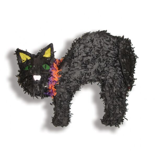 PINATA - BLACK SCAREDY CAT