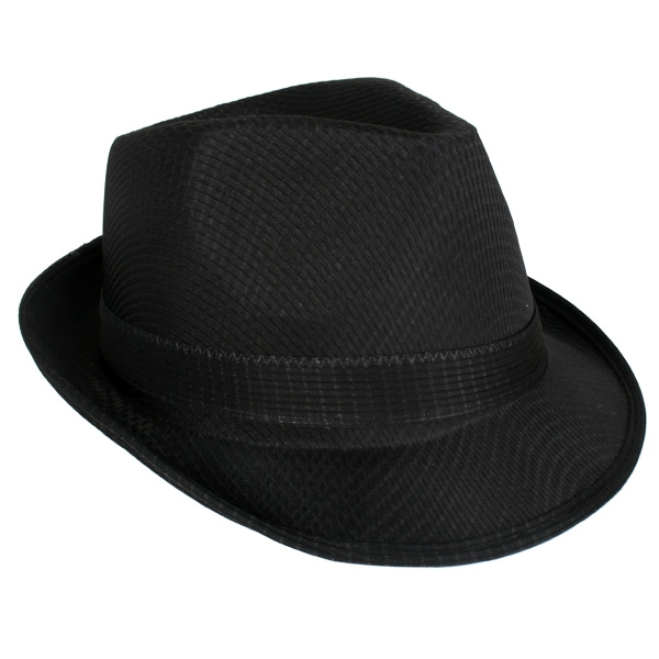 55c39c53 Blues Brothers Feltex Fedora/trilby Black Hat - Party Supplies ...