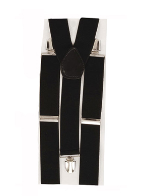 BRACES/SUSPENDERS - BLACK GANGSTER OF 1920'S