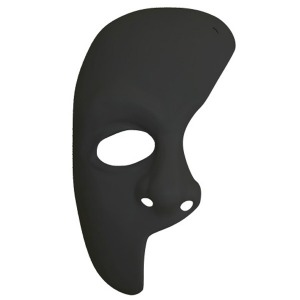 MASK - PHANTOM OF THE OPERA - BLACK
