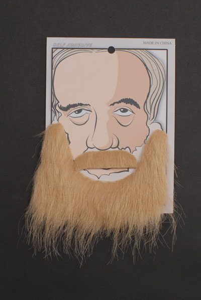 Image of Beard & Moustache  Blonde