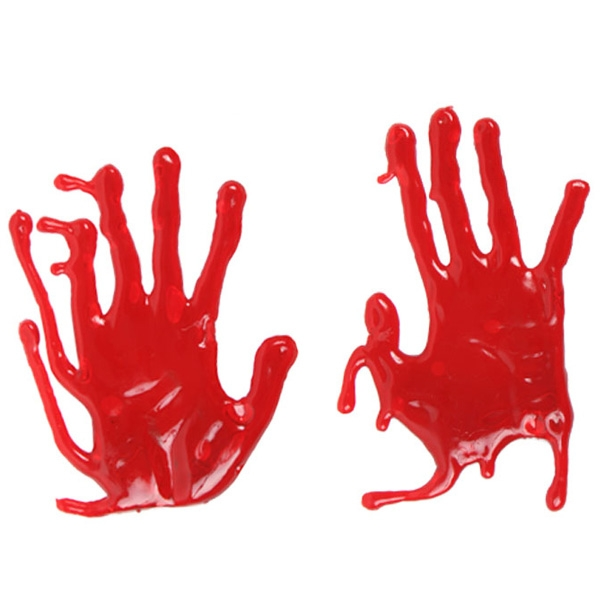 BLOODY HANDS 3D WINDOW GEL