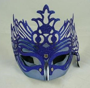 MASK - GLITTERED BLUE/PURPLE FANTASY