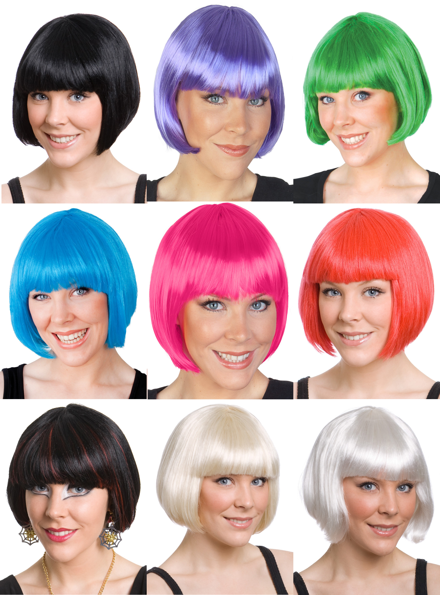 BOB WIG - PAIGE BOY STYLE WITH FRINGE