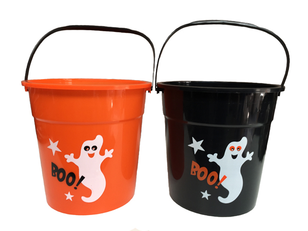 Image of Halloween Boo! Ghost Design Loot Bucket