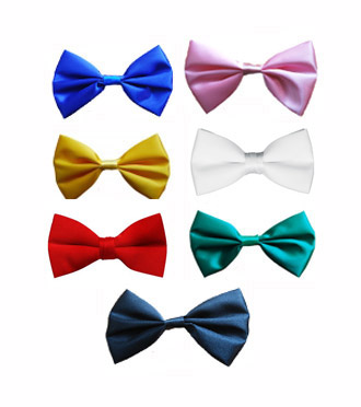 MATERIAL BOW TIES - CHOOSE YOUR COLOUR HERE