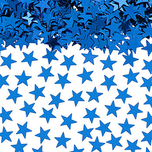 TABLE SCATTERS - BLUE STARS