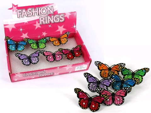 BUTTERFLY FABRIC RING