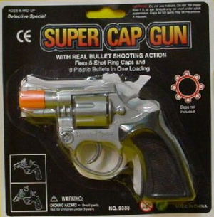 CAP GUN SHORT NOSED