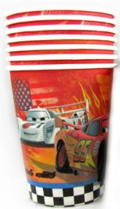 CARS 2 - CUPS PACK 8