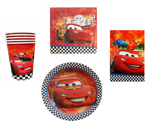 CARS 2 - PARTY PACK 4O PIECE