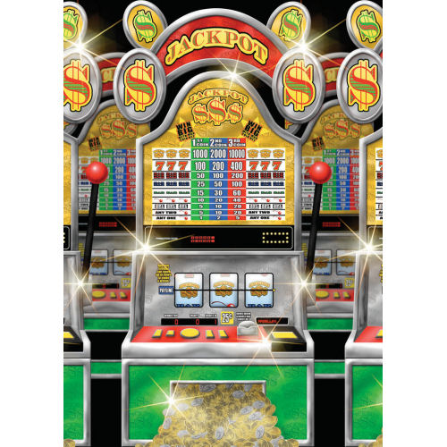 SCENE SETTER ROOM ROLL - SLOT MACHINES