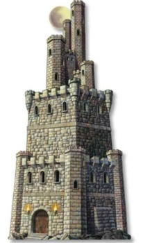 CASTLE TOWER - JOINTED CUTOUT LARGE