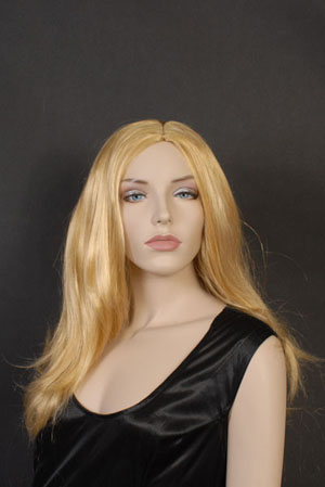 Image of Blonde Wig Straight Centre Part
