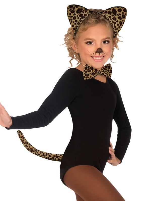 LEOPARD DRESS UP KIT - CHILD'S
