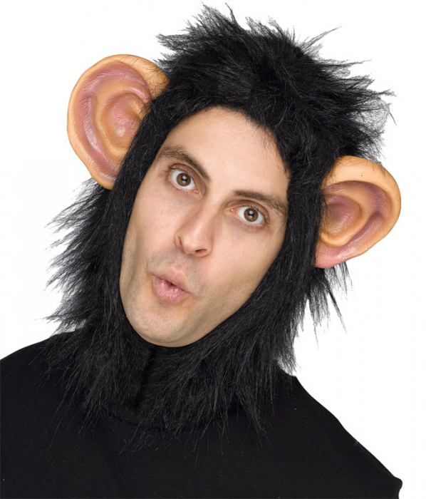 MAN OR BEAST CHIMP/MONKEY HOOD