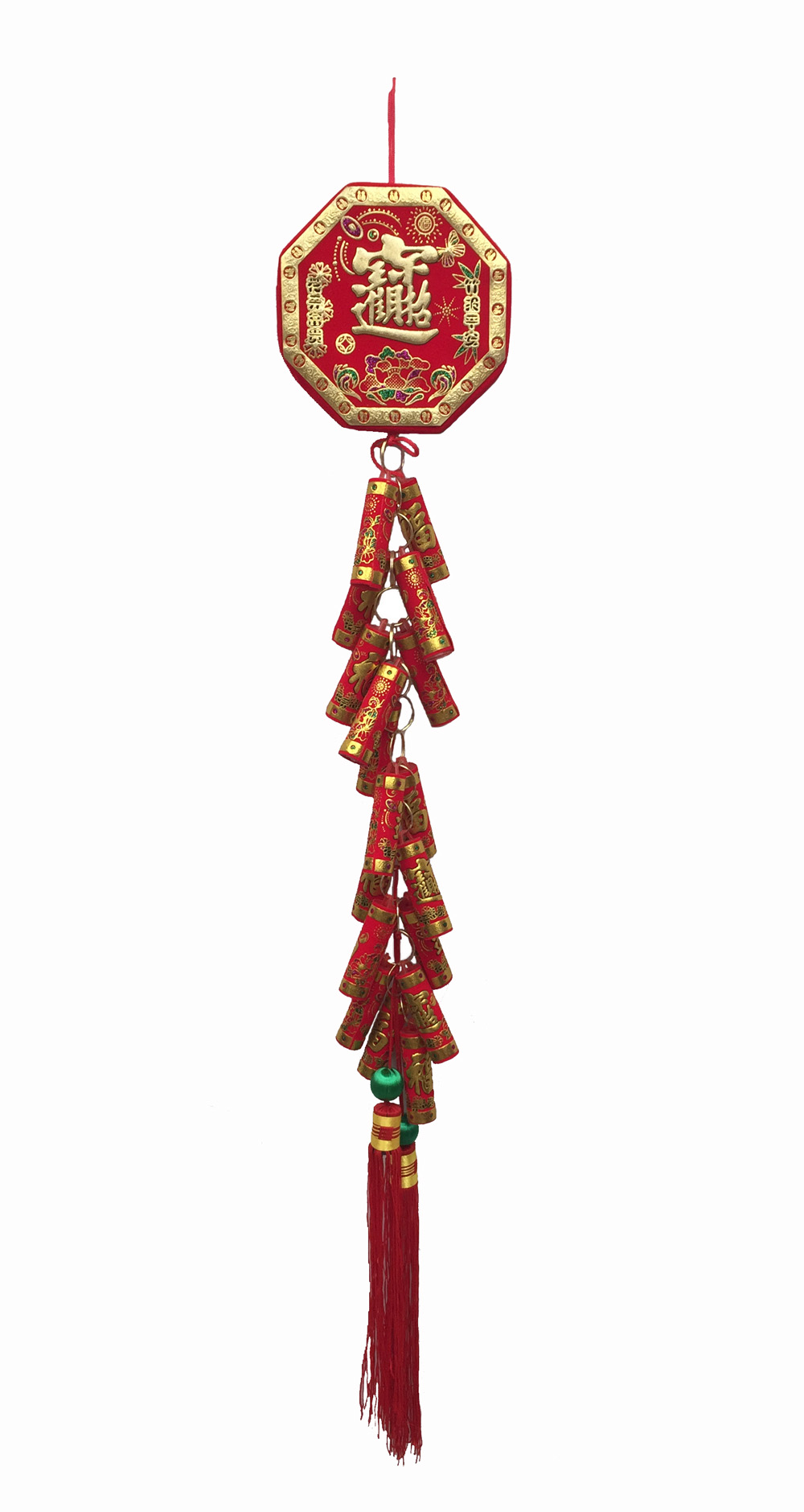 CHINESE FIRE CRACKER GARLAND