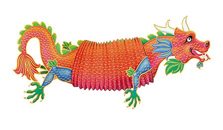 CHINESE DRAGON HANGING DECORATION