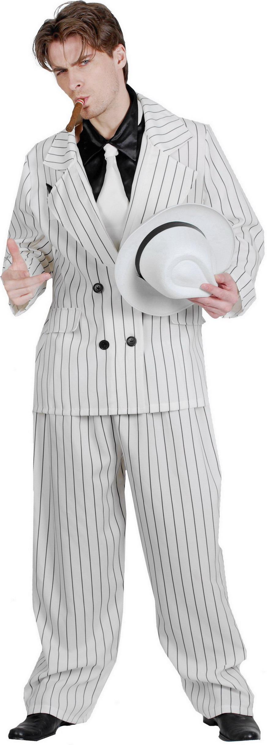 Gangster Suit Fancy Dress Costume - Medium/large - Party Supplies ...
