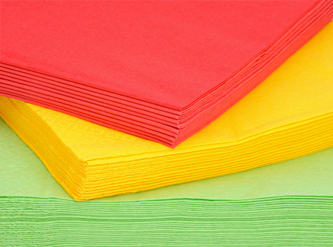 NAPKINS - SOLID COLOUR LUNCH PACK 50 - CLICK FOR 14 COLOURS