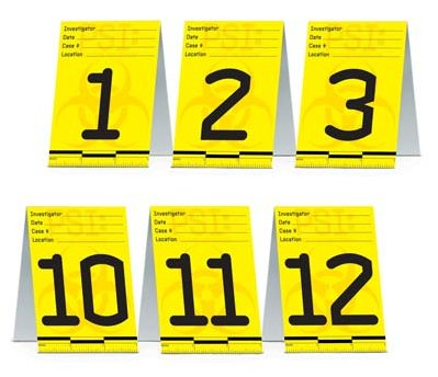 PSI/POLICE TABLE PLACE CARDS