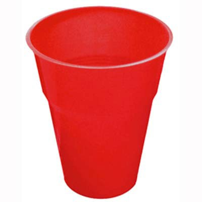 DISPOSABLE CUPS - RED PACK 25