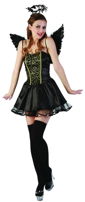 DARK ANGEL WOMENS COSTUME - SMALL/MEDIUM