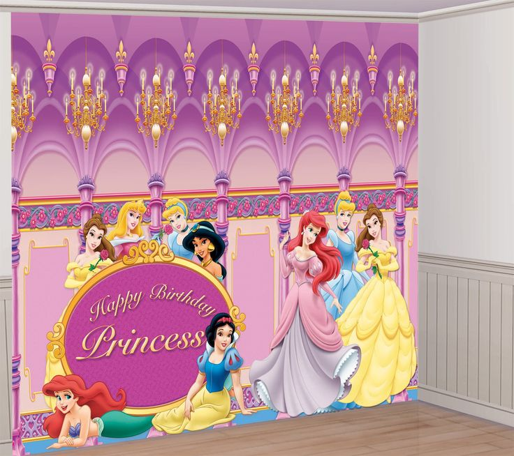 DISNEY PRINCESS DELUXE DECORATING KIT
