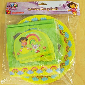 DORA THE EXPLORER PARTY PACK OF 40