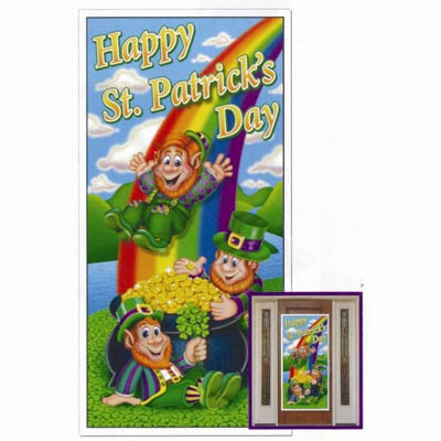 HAPPY ST. PATRICK\'S DAY DOOR COVER