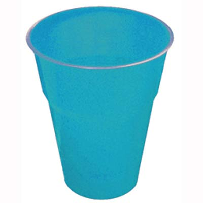 DISPOSABLE CUPS - AZURE BLUE PACK 25