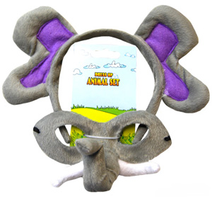 HEADBAND & MASK SET - ELEPHANT