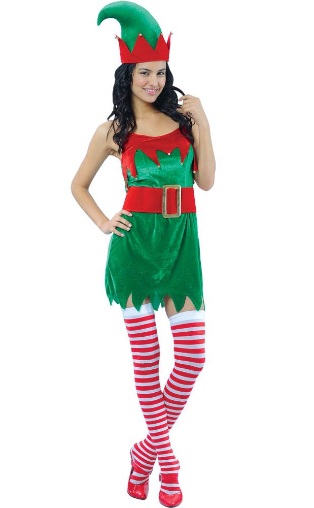 Diy Christmas Elf Costume Www Marnicks Com