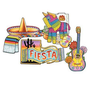FIESTA CUT OUT SET OF 4