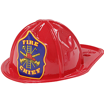 FIRE CHIEFS HELMET - CHILD SIZE