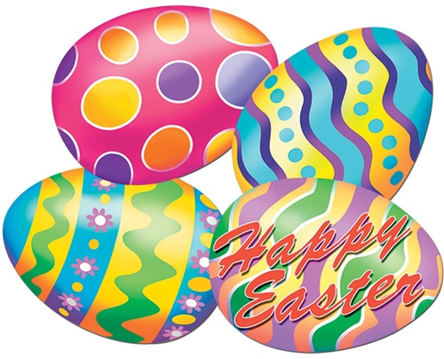 FOILBOARD EASTER EGGS - PACK OF 13