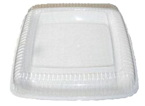 LARGE SQUARE DURABLE PLATTER - WHITE - NO LID