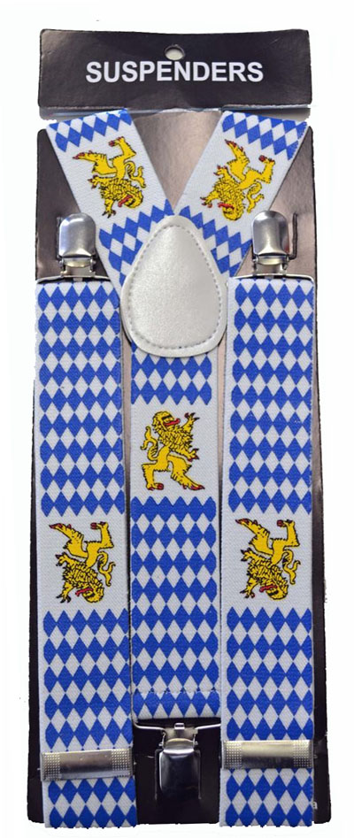 BRACES/SUSPENDERS - GERMAN BAVARIAN OKTOBERFEST