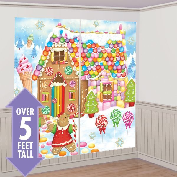SCENE SETTER - GINGERBREAD HOUSE SWEET HOLIDAY CUT OUTS