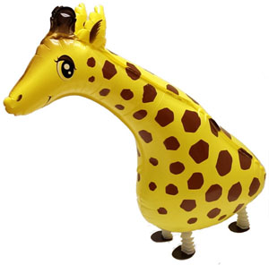 WALKING PET BALLOON - GIRAFFE 76CM