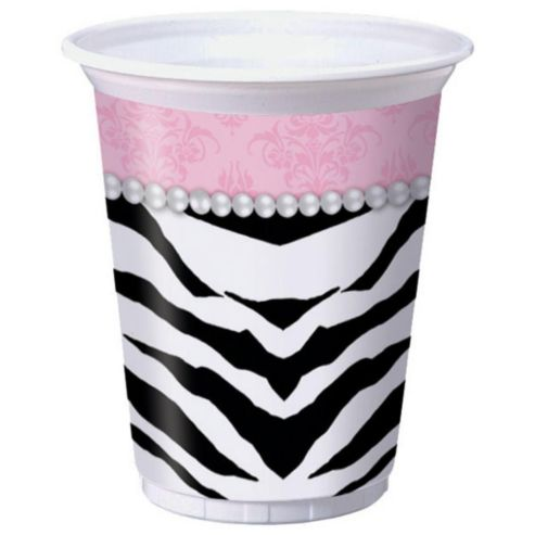 GIRLS NIGHT OUT PLASTIC CUPS - PACK OF 8