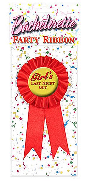 GIRL'S LAST NIGHT OUT ROSETTE