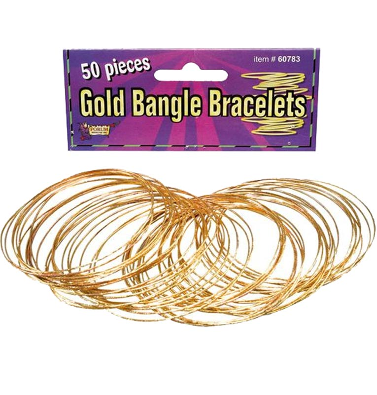 GOLD BRACELETS SET OF 50