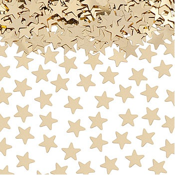 TABLE SCATTERS GOLD STARS