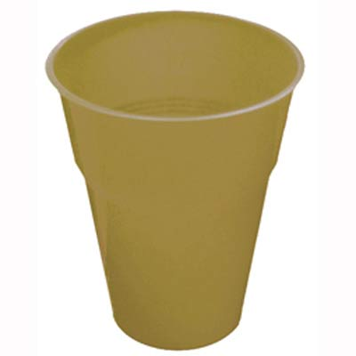 DISPOSABLE CUPS - GOLD PACK 25