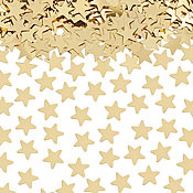 TABLE SCATTERS - GOLD STARS