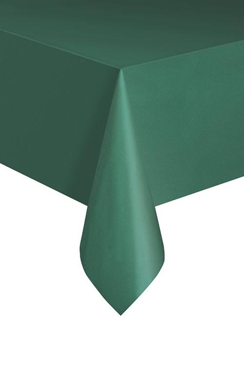 Image of Christmas Green Table Cover  Rectangular