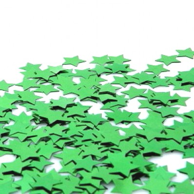 TABLE SCATTERS - GREEN STARS