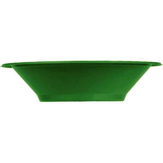 DISPOSABLE DESSERT OR SNACK BOWL GREEN - PACK OF 25