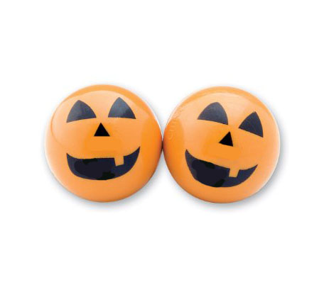 PARTY FAVOURS - PUMPKIN FLASHING BOUNCING BALL